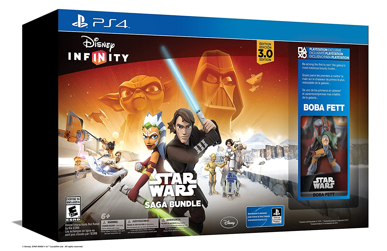 Disney Infinity 3.0 Star Wars Lot Ps4 for sale online
