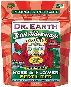 Dr. Earth Organic & Natural MINI Total Advantage Rose & Flower Fertilizer ( 1 lbs )