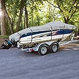 Budge 1200 Denier Boat Cover fits Center Console