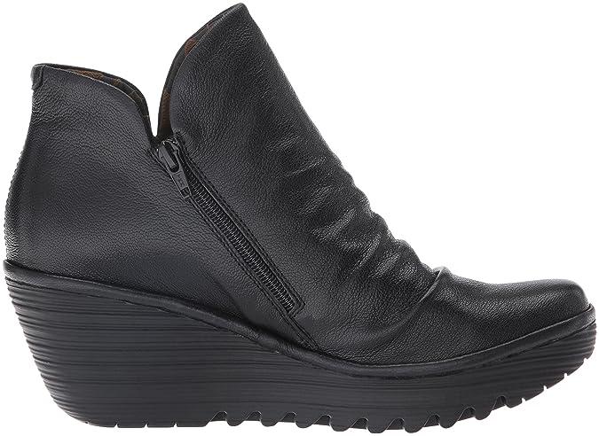 FLY London Yip, Botines para Mujer, Negro (Black 017), 35 EU: Amazon.es: Zapatos y complementos