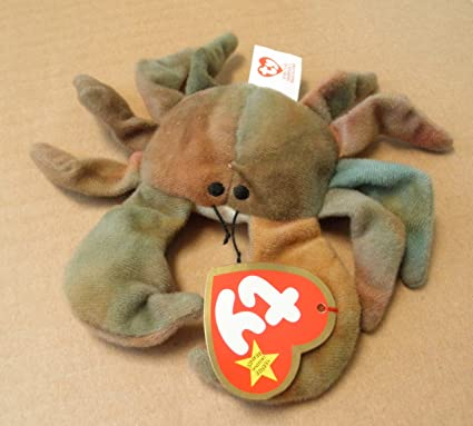 Image Unavailable. Image not available for. Color  TY Teenie Beanie Babies  Claude the Crab ... 9647498c2c1