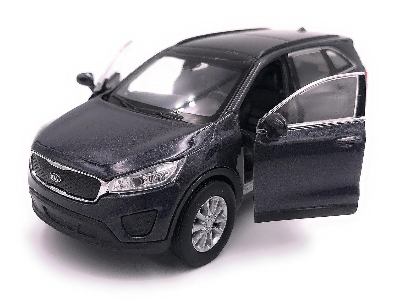 H-Customs Auto modello Welly Kia Sorento PRODOTTO CON LICENZA 1: 34-1: 39 Grigio hcmkiasorentograu2605
