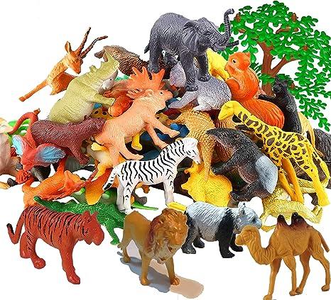 Safari LARGE SQUIRREL MONKEY big solid plastic toy wild zoo animal NEW *