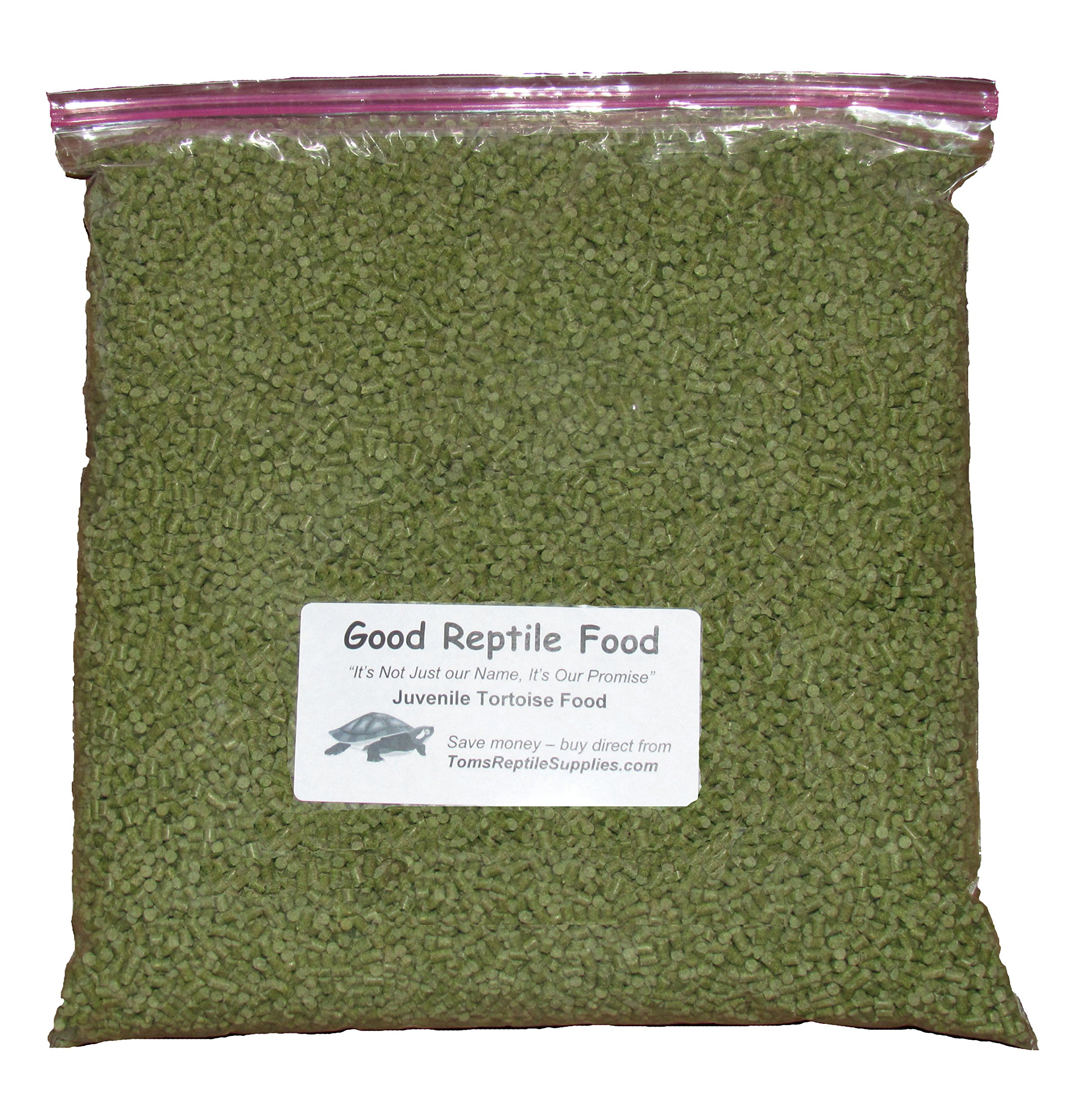 Juvenile Tortoise Food 4 LBS Bulk by Good Reptile Food