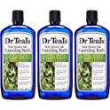 3-Pack Dr Teal's Foaming Bath, Eucalyptus, 34 Ounce