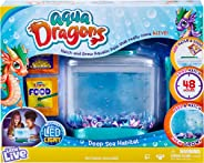 Little Live Aqua Dragons - Deep Sea Habitat - LED Light Up Tank Hatch and Grow Aquatic Pets