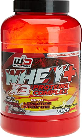 WD Proteina, chocolate blanco y frambuesa - 2 kg: Amazon.es ...