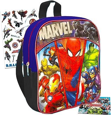 "Marvel Avengers Thor 16/"" Canvas Backpack Kids Back to School Book Bag"