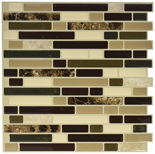 Amazon.com: QUINCO SM1034-6 Tile Wall Keystone with Pink Tones: Home ...