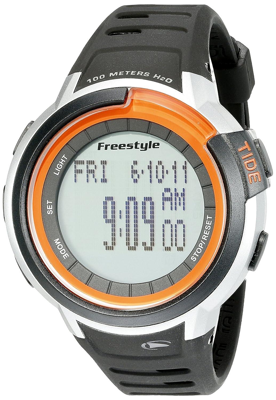 Freestyle Unisex 10022919 Mariner Tide Digital Display Japanese Quartz Black Watch