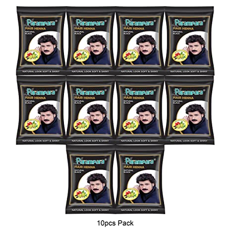 cd233a084e6b8 Buy Parampara Ayurved Black Henna Online at Low Prices in India - Amazon.in