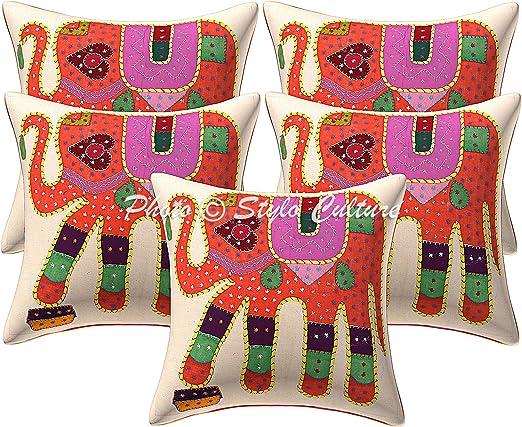 Stylo Culture Cojines Decorativos étnicos Cojín Decorativos