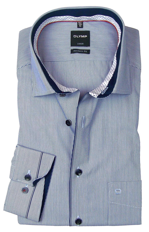 Olymp Camisa Formal - Rayas - Clásico - Para Hombre