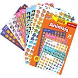 Trend Enterprises Super Shapes Animal Stickers, Incentive Variety Pack, 13/32 in, Pack of 2500, T-46904