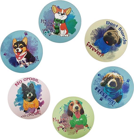 Cavalier King Charles Spaniel Coasters Tile Coasters Birthday Present Housewarming Gift Dogs Dog Coasters Coaster Set