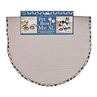 Envision Home 413000 Microfiber Pet Bowl/Food Mat, X-Large, Taupe