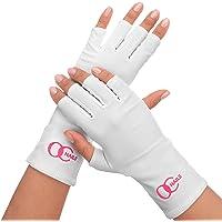 OC Nails Guante Protector de UV para la manicure de gel con UV/Lámparas LED (Color: Blanco)