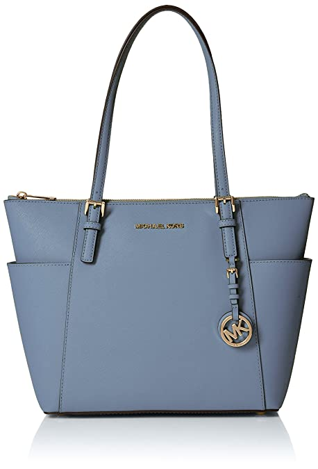 4611782f42 Michael Kors Jet Set Item - Borse Tote Donna, Blu (Pale Blue ...