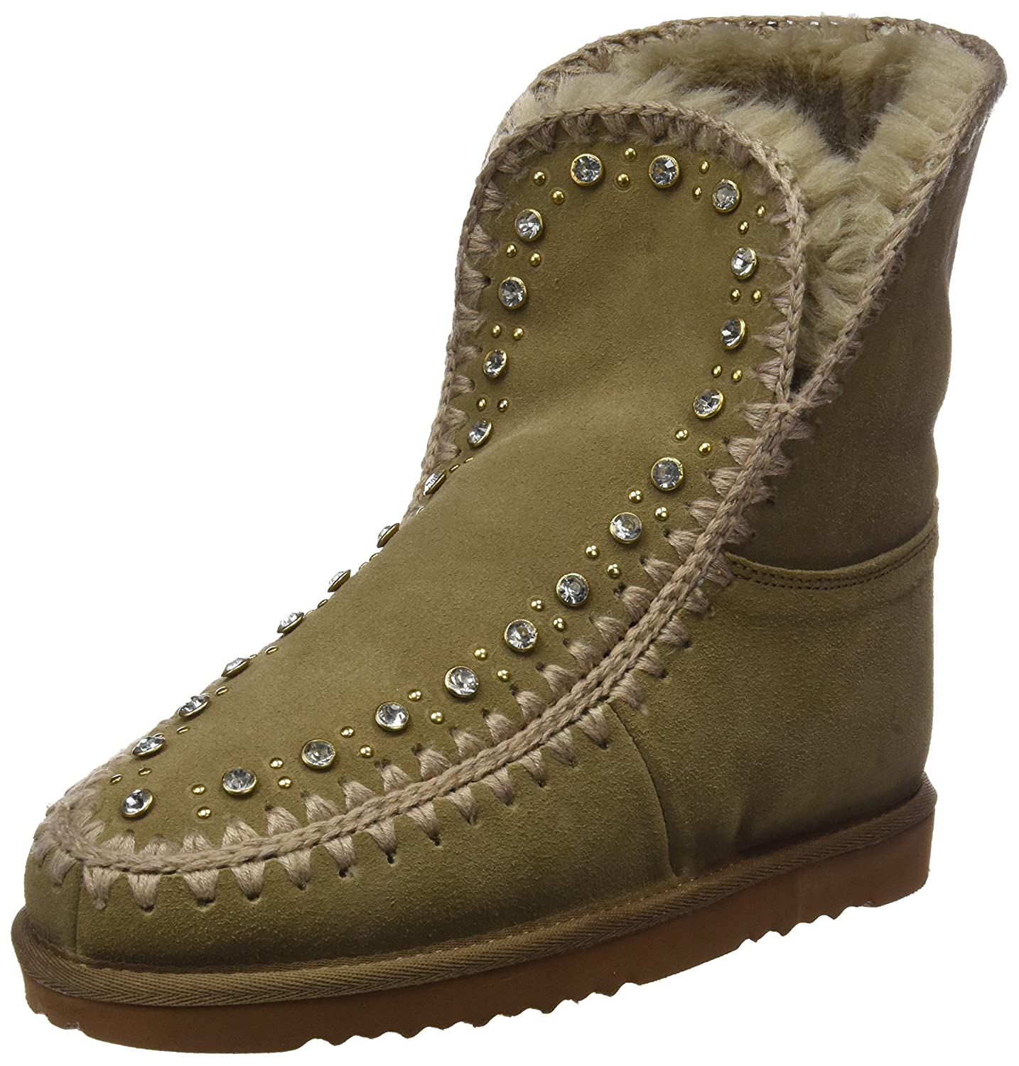Noa Harmon 7210-28, Botas Slouch para Mujer Beige (Taupe)