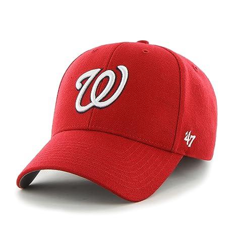 df34cc438d8 Amazon.com  MLB Washington Nationals MVP Adjustable Cap