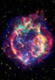 Space Poster of the Cassiopeia Supernova
