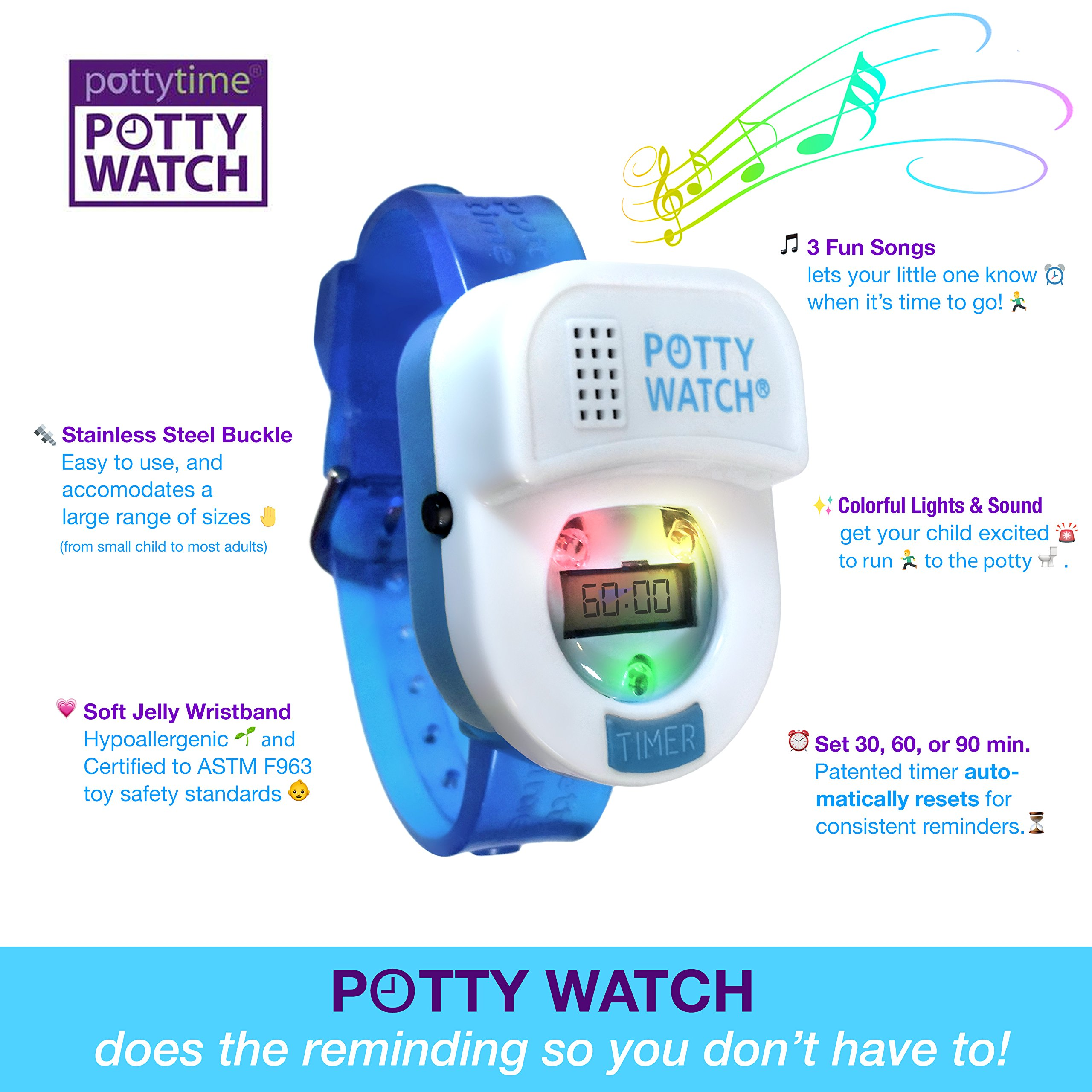 Potty Time Potty Watch - Blue by Potty Time (Image #3)