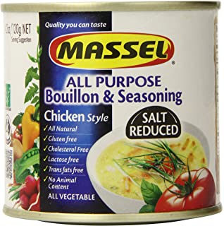 Massel Gluten-Free, Salt Reduced All Purpose Bouillon & Seasoning Granules, Chicken Style