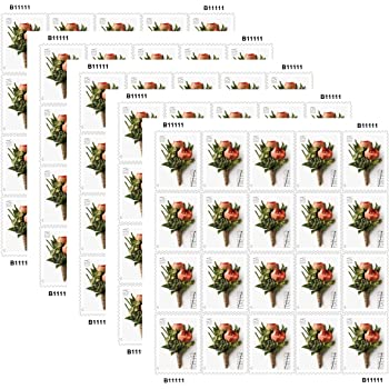 Amazon Com Peace Rose Usps Forever Stamp 10 Booklets