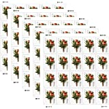 Celebration Boutonniere USPS Forever Stamps Sheet of 20 - New Stamp Issued 2017 (Pack of 5 Sheets)