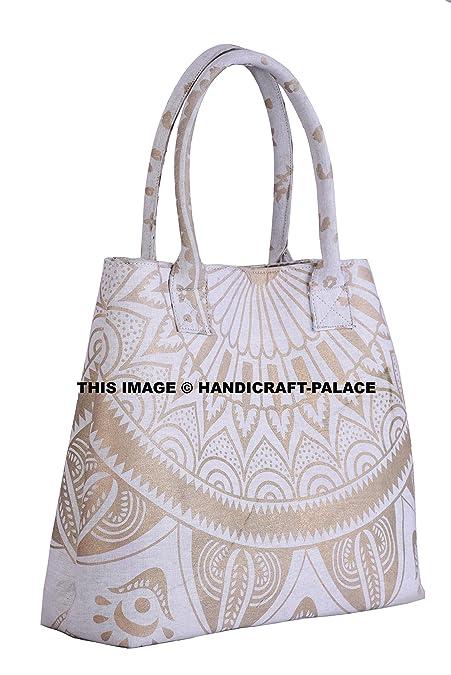 Amazon.com: Mujer Ombre Mandala playa de la compra bolso ...