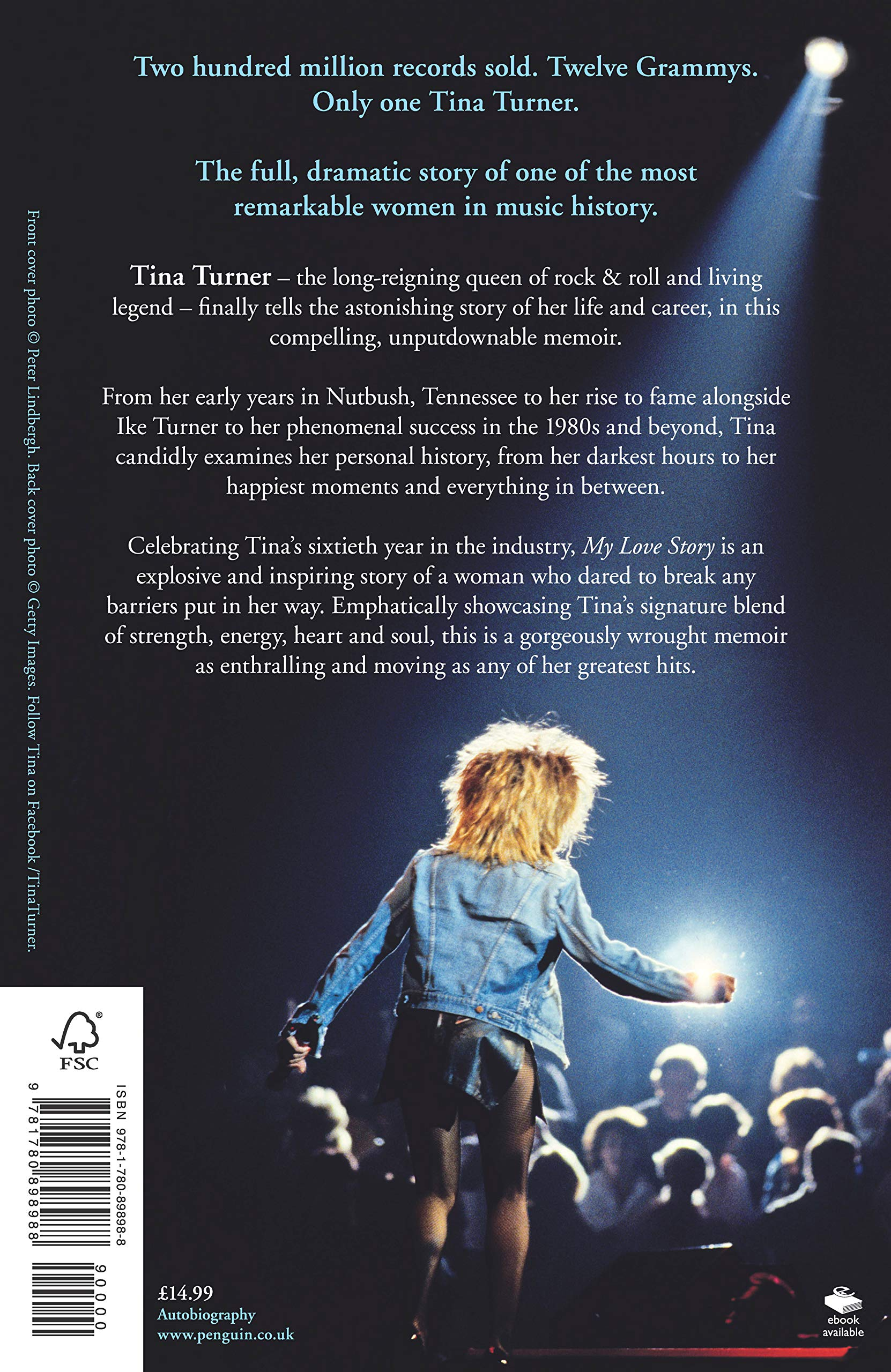 Tina Turner My Love Story Official Autobiography Tina