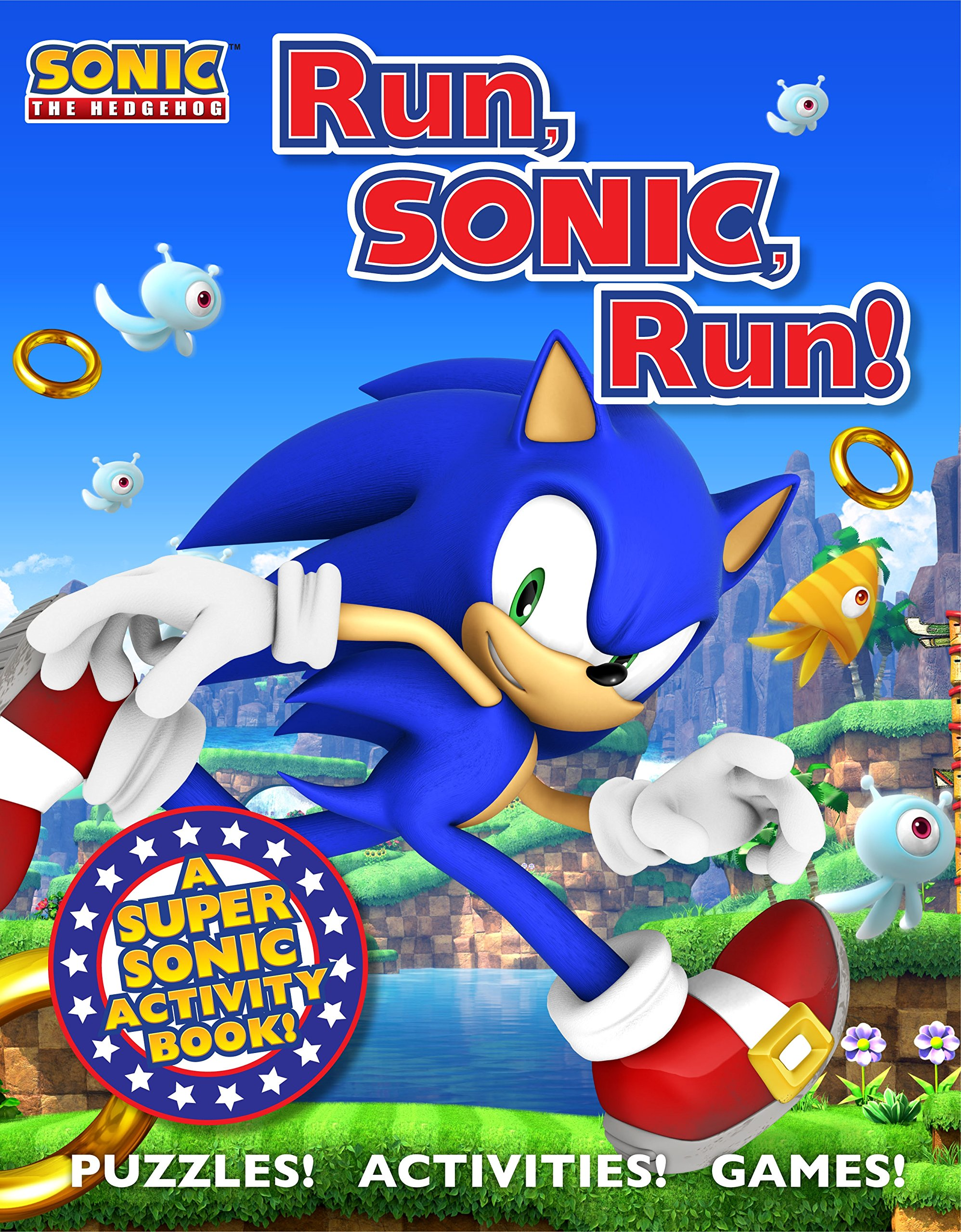 Sonic the Hedgehog Activity Book: A Sonic the Hedgehog Activity Book ...