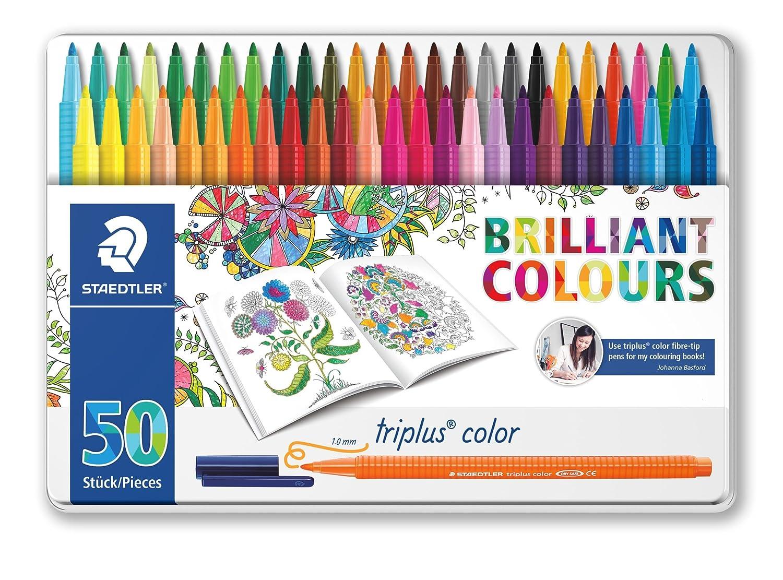 Staedtler 323 10 Mm Triplus Colour Fibre Tip Pen Johanna Basford