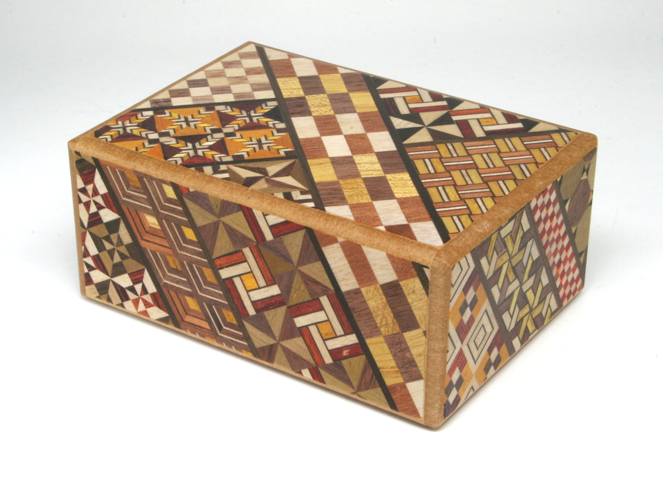 Japanese Puzzle box 4sun 4steps