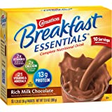 Carnation Instant Breakfast Powder, Rich Milk Chocolate, 10 pk