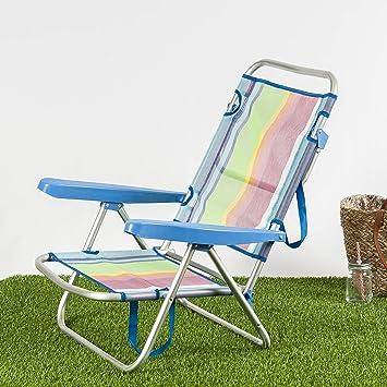 Habita Home Silla Baja para LA Playa 108x60x78/d22 Color 1 ...