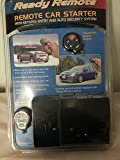 Design Tech Ready Remote Car Starter 23739 with Keyless Entry & Auto Security System