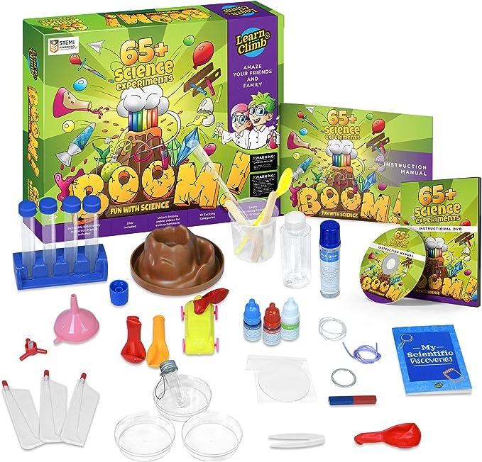 Amazon.com: Juego de ciencia para niños con má ...