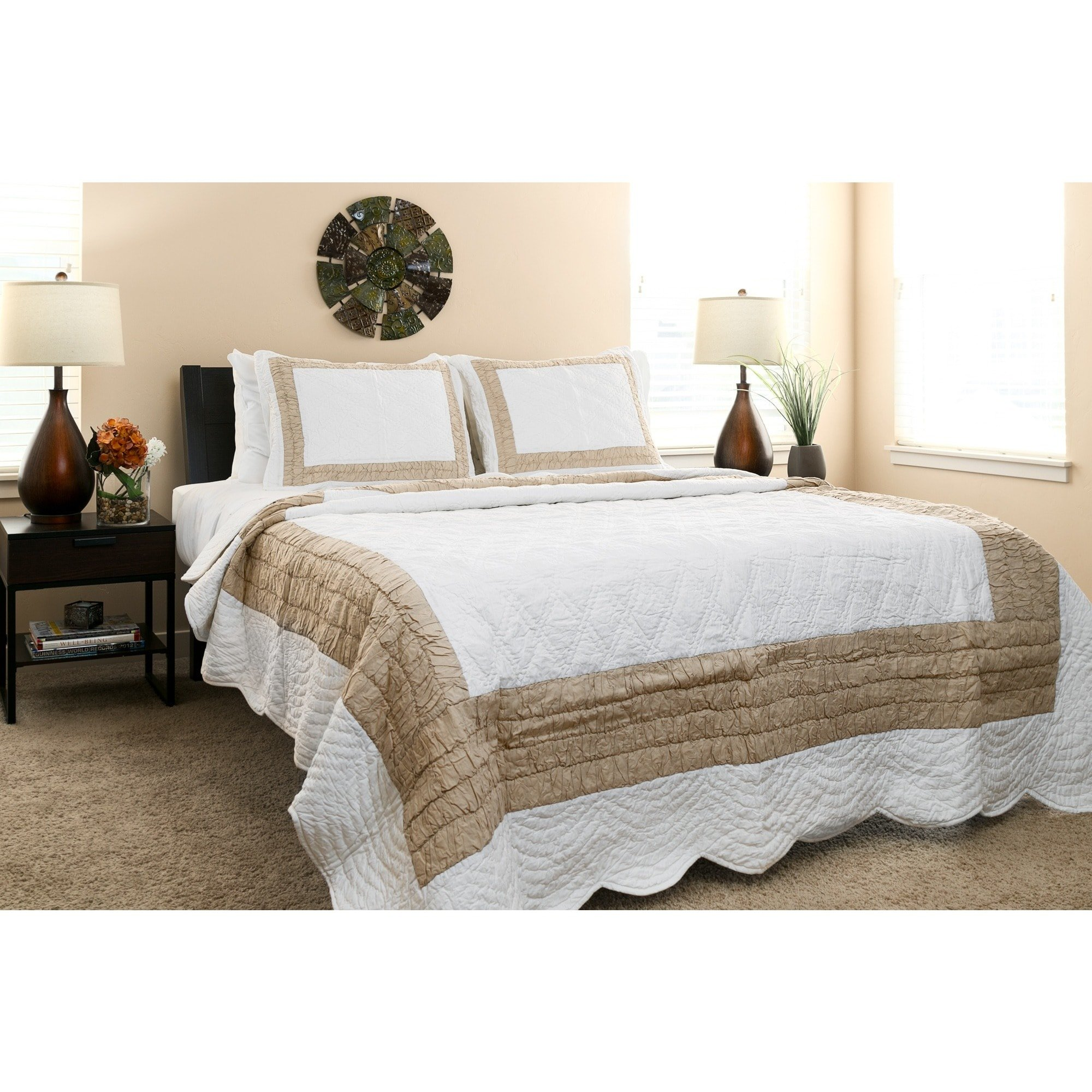 Arsons Home Furnishings Handmade Vibrant 100-percent Cotton Quilt Set (India) by Arsons Home Furnishings (Image #2)