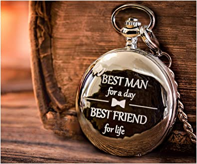 Amazon Best Man Gifts For Wedding Engraved Best Man Pocket