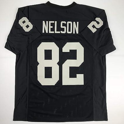 big sale 6fcc5 4492d Amazon.com: Unsigned Jordy Nelson Oakland Black Custom ...