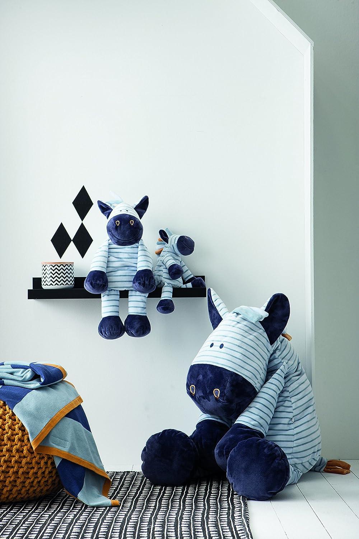 Noukies Achille /& Zebrito Couverture Jacquard 75 x 100 cm