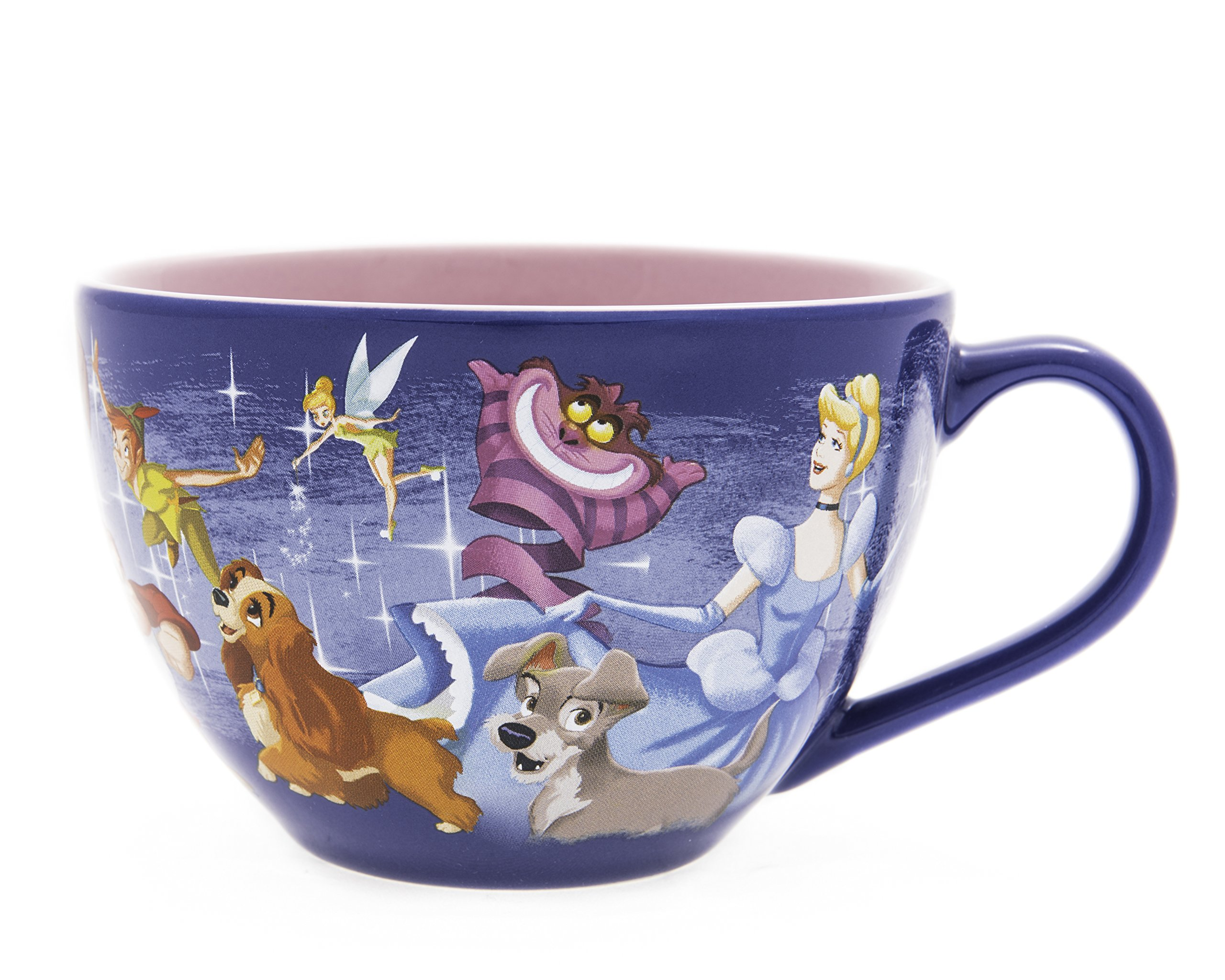 Disney Exclusive: Retired Disney Friends Large Cappuccino or Soup Mug (1, purple)