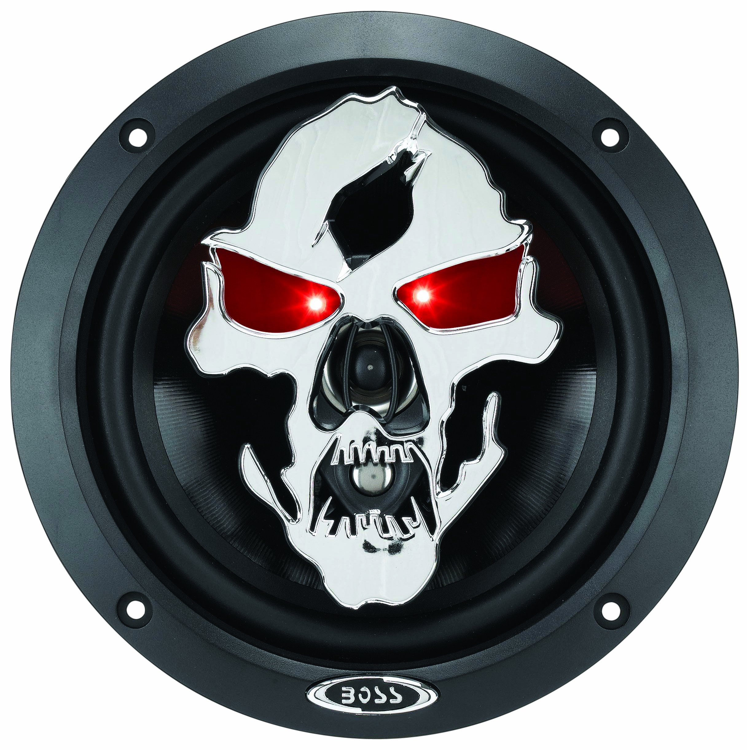 BOSS Audio SK653 Phantom Skull 6.5-Inches 3-way 350W Full Range Speaker