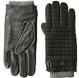 Ted Baker Men's OBLIN Quilted Gloves, black, M/L