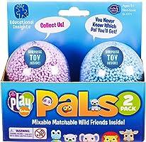 Educational Insights Playfoam Pals Wild Friends 2-Pack: Surprise Egg with Hidden Pal and Playfoam