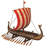 Design Toscano Drekar the Viking Longship Collectible Museum Replica Statue, Polyresin, 34.5 cm
