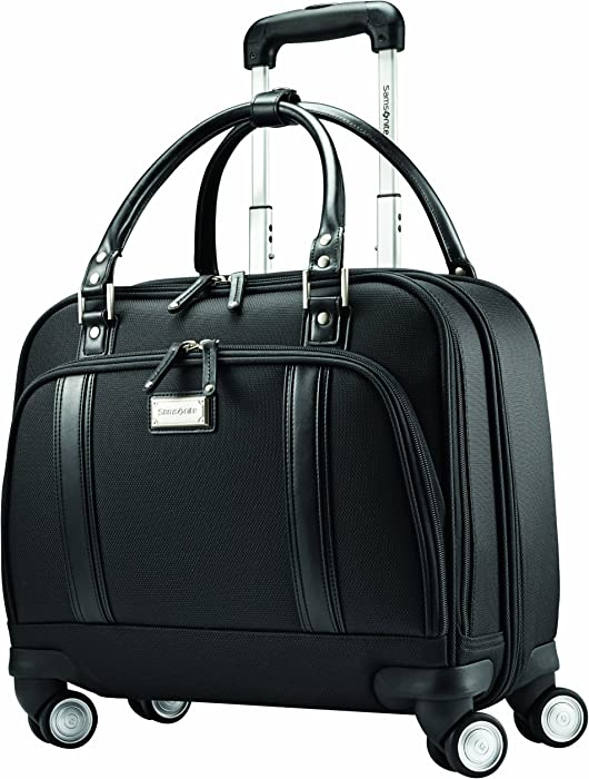 Samsonite Women's Spinner Mobile Office, Black, One Size