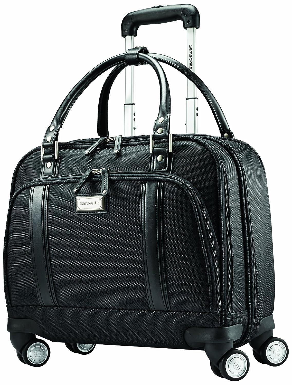 5a8e391ab80 Amazon.com | Samsonite Women's Spinner Mobile Office, Black | Suitcases