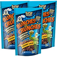 Bakery On Main Gluten-Free Bunches of Crunches Granola, Coconut Cacao, 11 Ounce Bag (Pack of 3)